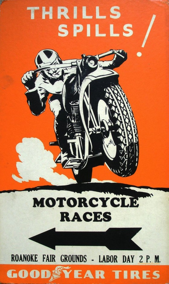 Thrills and Spills Motorcycle Races