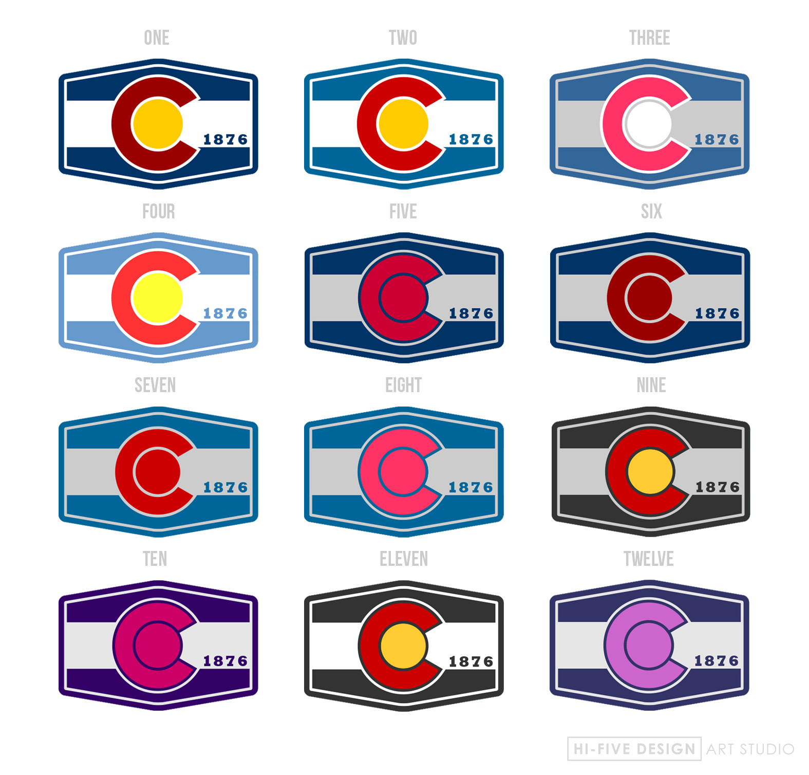 logo design colorado springs, graphic designer colorado springs, colorado logo, colorado patch, colorado design