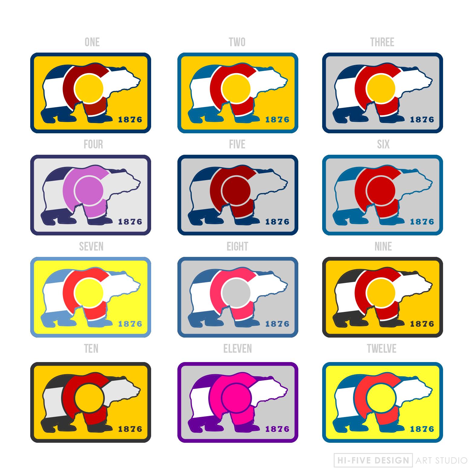 logo design colorado springs, graphic designer colorado springs, colorado logo, colorado patch, colorado design
