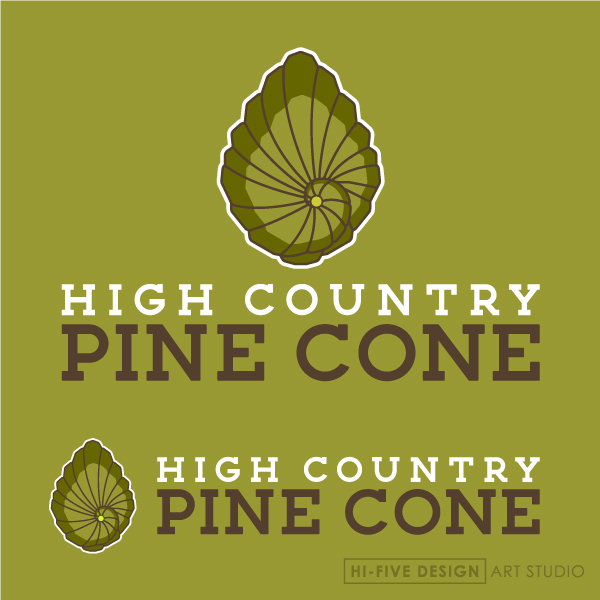 pine cone logo, pine cone drawing, pine cone design, pine cone illustration, tree logo, tree design, tree illustration, organic logo, natural logo, hippy logo