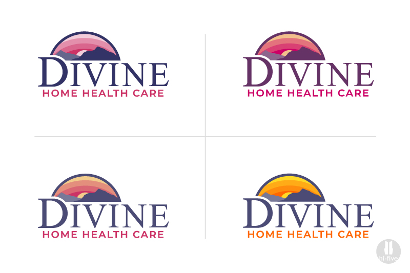 home care logo, home health care logo, home health logo, graphic designer colorado springs, graphic designer denver