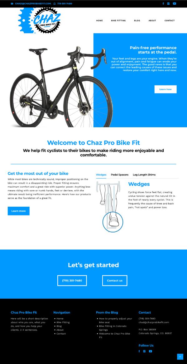 web design colorado springs, web design denver, web design pueblo, web designer colorado springs, web designer denver, website designer pueblo, website development colorado springs, hi-five design, hi-five design colorado springs, bike shop website design, bicycle website design