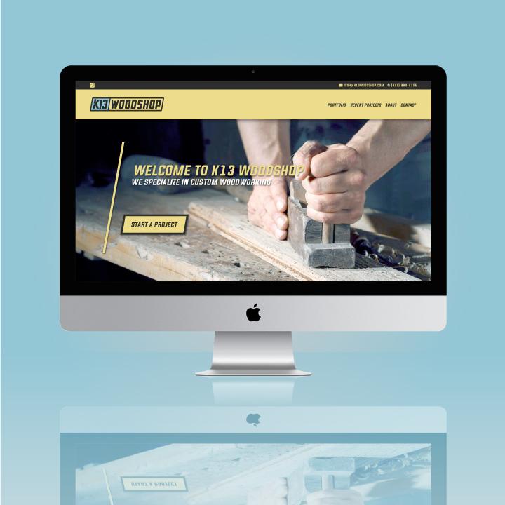 website designer colorado springs, web developer colorado springs, website colorado springs, woodworking website, wood website, wood shop website, hi-five design