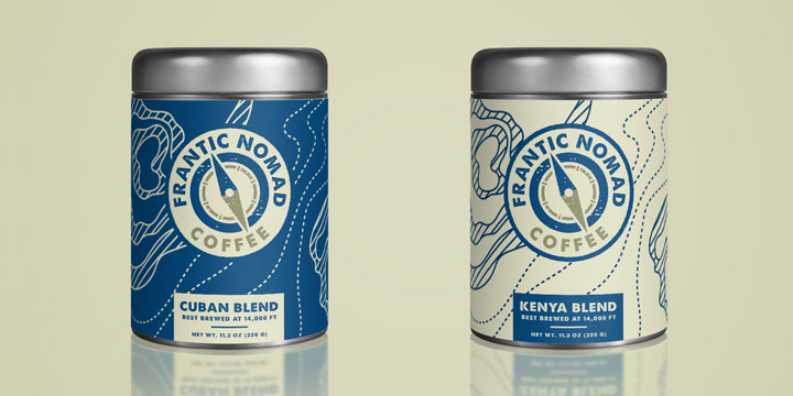 coffee packaging design, coffee container, coffee logo, coffee design, coffee tin, packaging design colorado springs
