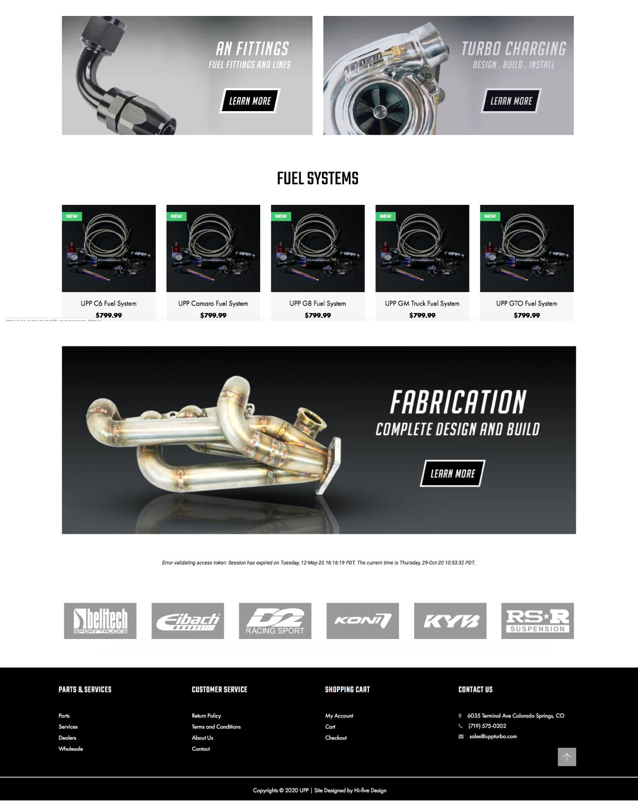 car website design, speed shop website design, auto web design, truck website design, ecommerce website designer colorado springs, web developer colorado springs, best web designer colorado springs