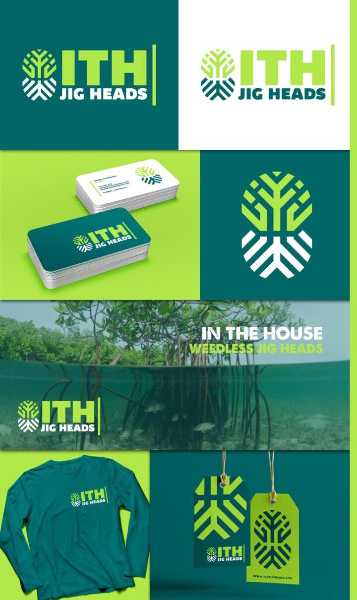 graphic designer australia, fishing lure logo australia, fishing logo design australia, fish logo design australia, tree logo design australia, hi-five design australia