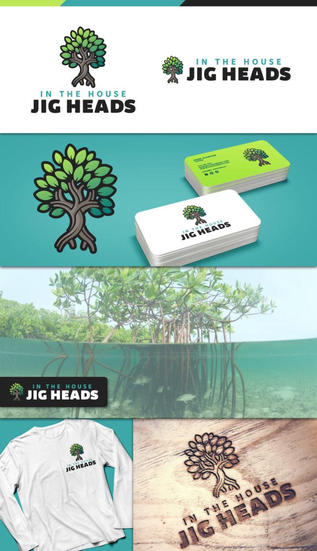 mangrove logo design, graphic designer australia, fishing lure logo australia, fishing logo design australia, fish logo design australia, tree logo design australia, hi-five design australia