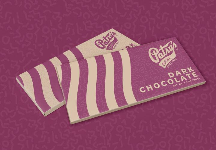 chocolate bar wrapper design, chocolate bar packaging design, chocolate packaging design, candy wrapper design, graphic designer colorado springs, packaging design colorado springs, hi-five design