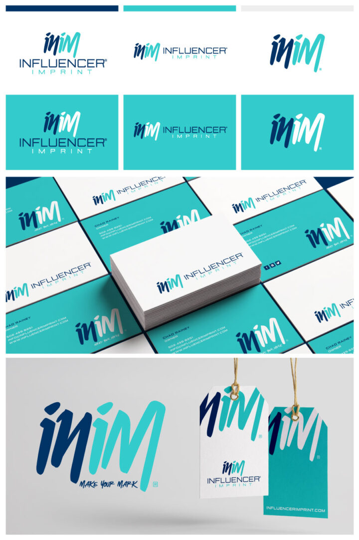 imprint logo design, print logo design, screen printing logo design, embroidery logo design, apparel logo design, professional logo designer colroado springs, logo maker colorado springs, modern logo design colorado springs, hi-five design